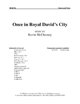 Once In Royal David's City - Orchestral Score and Parts